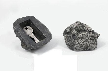 Roca para esconder la llave