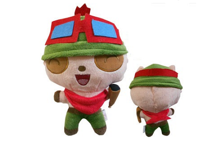 Peluche de Teemo de League of Legends