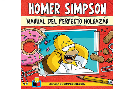 Homer Simpson, Manual del perfecto holgazán