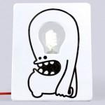 Lámpara para dibujar