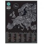 Mapa de Europa Gourmet para rascar