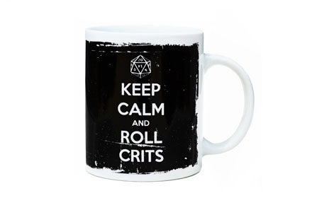 Taza «KEEP CALM & ROLL CRITS»