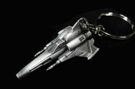 Llavero con forma de un Viper de la serie Battlestar Galáctica