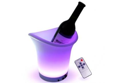 Cubitera LED con mando a distancia