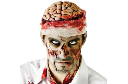 Gorro de cerebro zombie, The Walking Dead