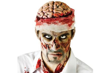 Gorro de cerebro zombie, The Walking Dead