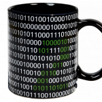 Taza código binario