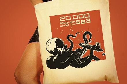 Bolsa 20.000 leguas bajo el mar