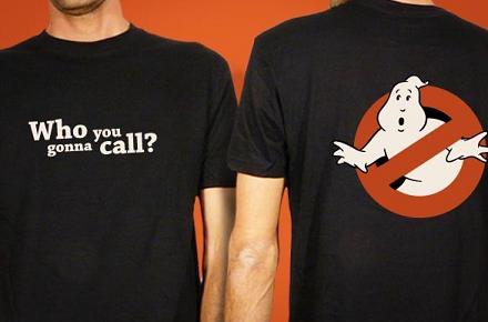 Camiseta de los Cazafantasmas