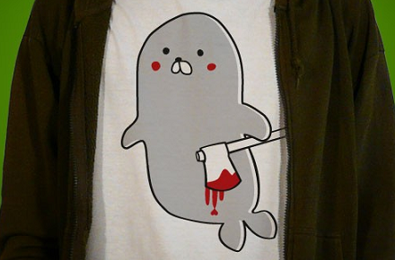 Camiseta foca asesina