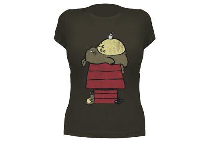 Camiseta de Mi vecino Totoro