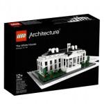 Maqueta de Lego con forma de la Casa Blanca