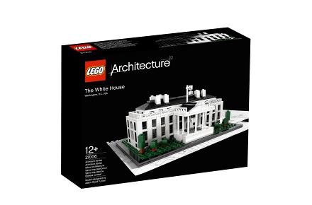 Maqueta de la Casa Blanca de LEGO