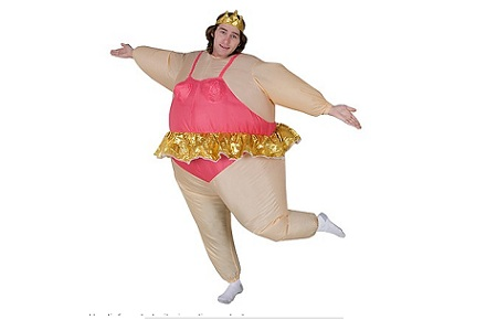 Disfraces Frikis Carnavales 2014: Disfraz bailarina hinchable