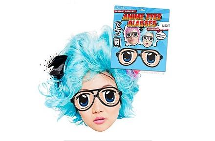 Disfraces Frikis Carnavales 2014: Gafas ojos manga