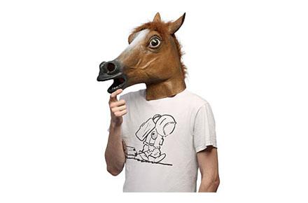 Disfraces Frikis Carnavales 2014: Máscara de caballo