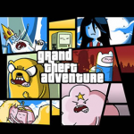 Camiseta Grand Theft Adventure