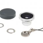 Mini objetivo ojo de pez para smartphone y cámaras