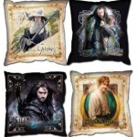 Pack de 4 cojines del Hobbit