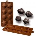 Original molde de silicona para hacer chocolates