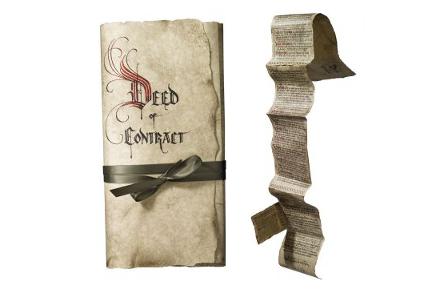 Réplica del contrato de El Hobbit