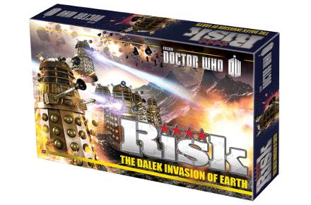 Juego de mesa Risk del Doctor Who