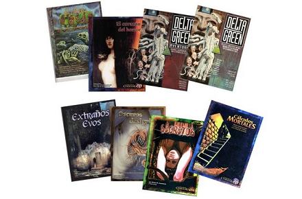 Lote de libros de rol Cthulhu
