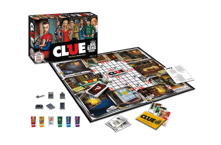Juego de mesa del Cluedo de The Big Bang Theory