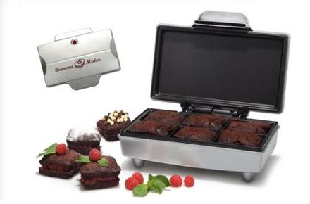 Molde para hacer brownies de chocolate