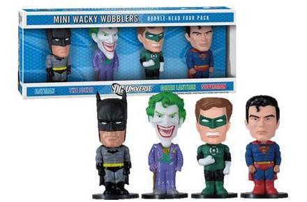 Pack de figuras de DC Cómics