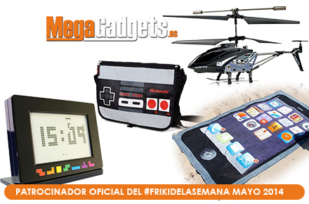 Nuevos sorteos para mayo del #FrikiDeLaSemana patrocinado por MegaGadgets