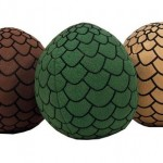 Pack de 3 peluches huevos de dragón Juego de Tronos