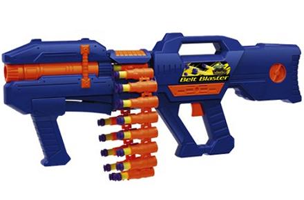Ametralladora de balas de gomaespuma