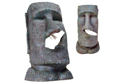 Moai mocoso, para resfriados frikis