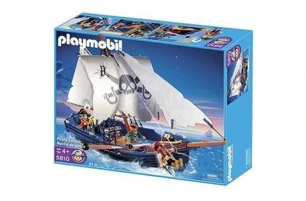 Barco corsario de Playmobil