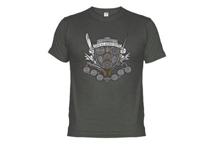 Camiseta escudo de armas de los Winchester, Sobrenatural