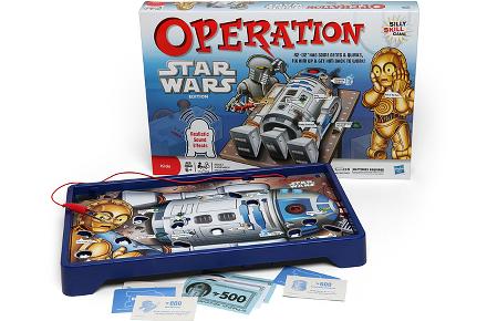 Juego de operación de R2D2