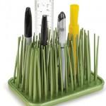 Organizador de escritorio hierba