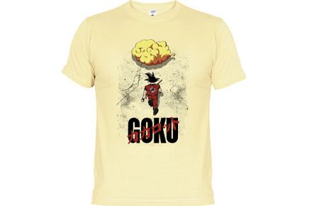 Camiseta Goku Akira
