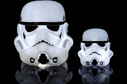 Lámpara StormTrooper de Star Wars