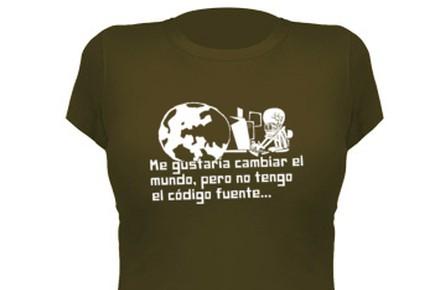 Camiseta código fuente
