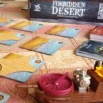Juego de mesa del Desierto Prohibido