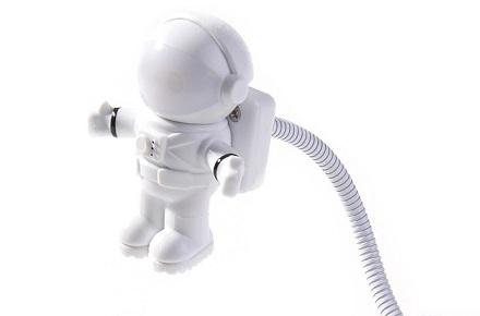 Luz USB astronauta