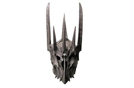 Réplica del casco de Sauron 73 cm, El Señor de los Anillos