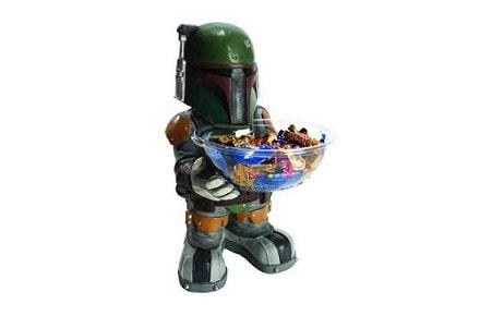 Boba Fett ofrece caramelos