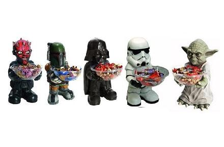 Stars Wars te ofrece caramelos