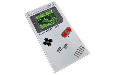 Toalla gameboy