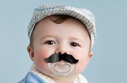 """Chupete bigote """"Moustache"""""""
