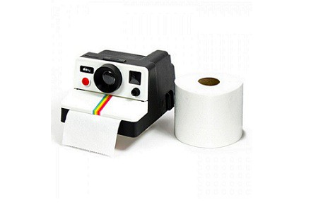Portarollos polaroid Polaroll para papel del WC