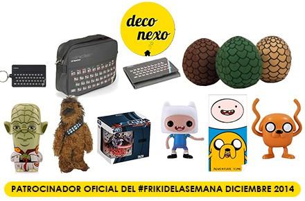 Nuevo #FrikiDeLaSemana con 4 sorteos y 10 regalazos en diciembre gracias a Deconexo